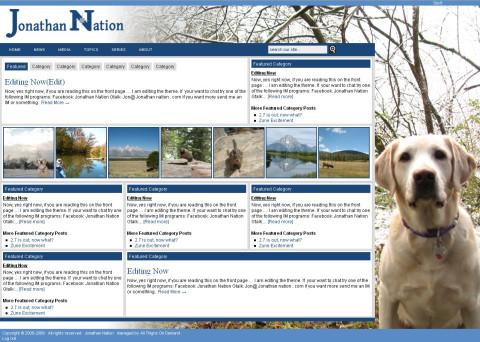 JonathanNation.com Theme Screenshot