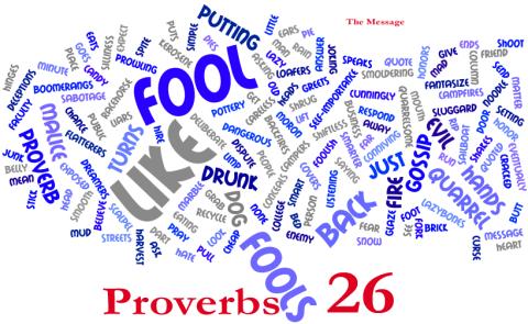 Proverbs 26 verse 2