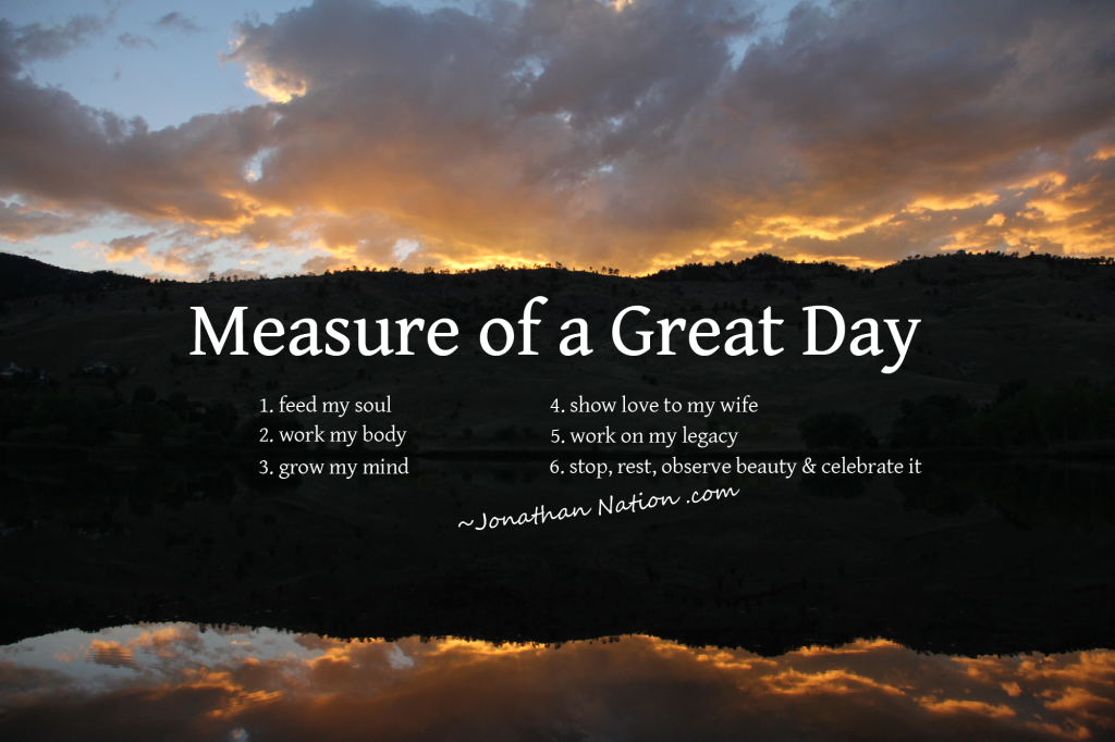 Measure of a Great Day