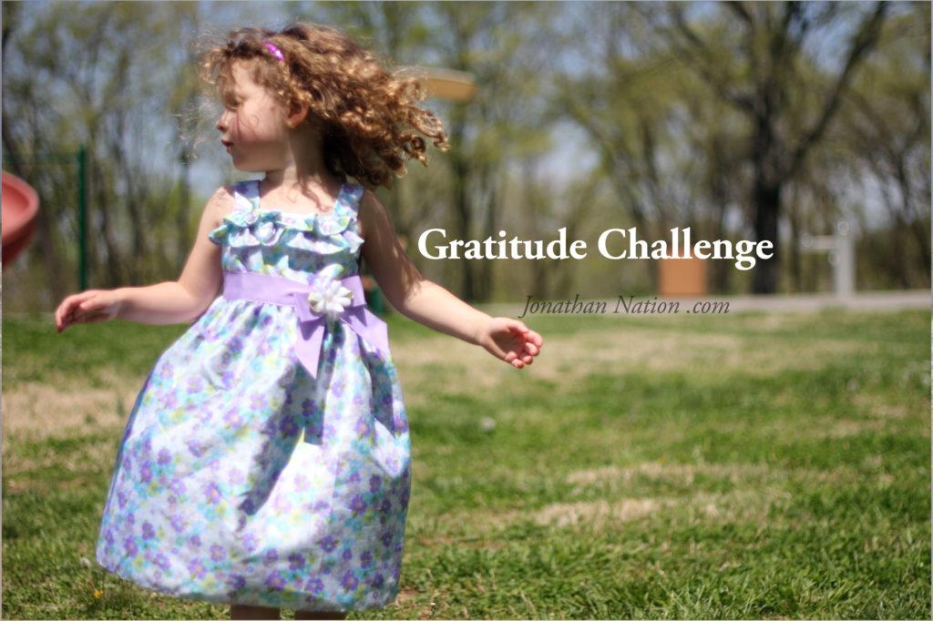 Gratitude Challenge 2014 - Jonathan Nation .com
