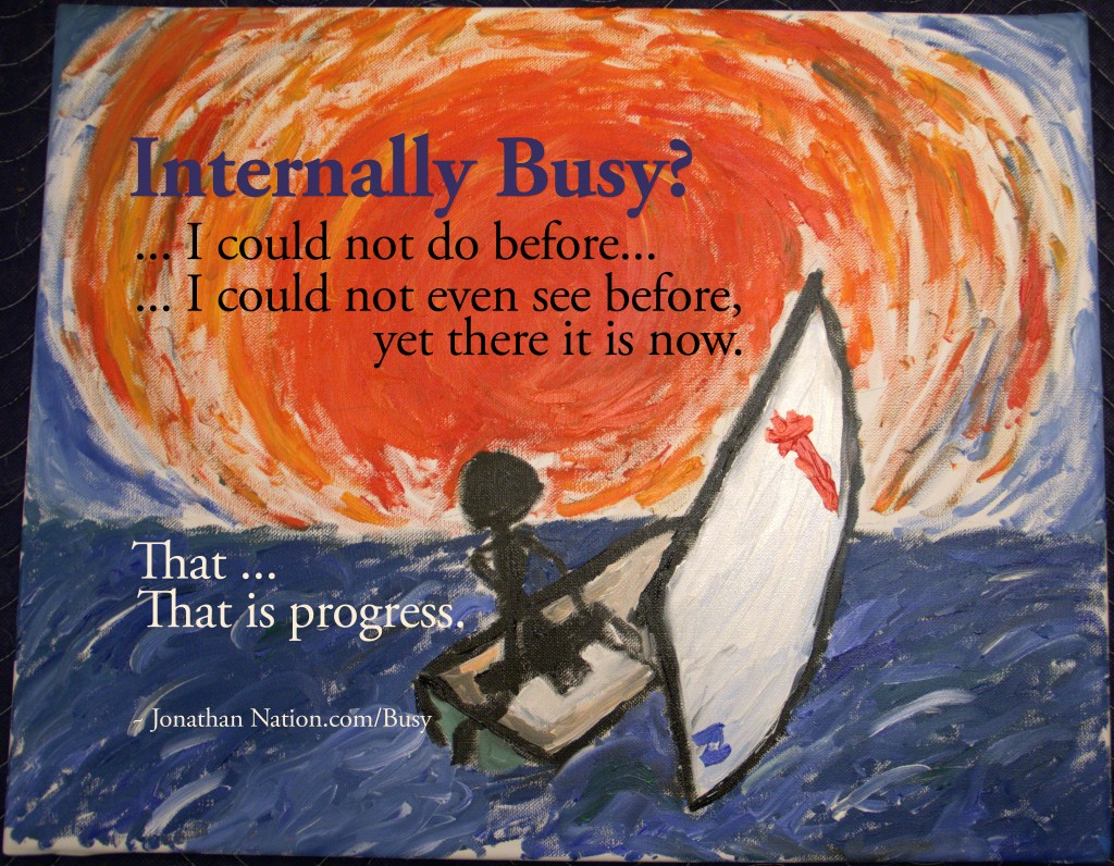 Internally Busy - Jonathan Nation